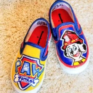 Other - Hand Painted Paw Patrol Shoes
